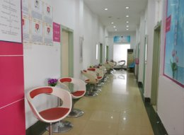 医院走廊候诊区